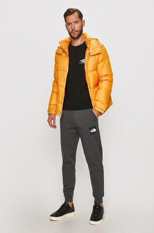 The North Face - Péřová bunda oranžová
