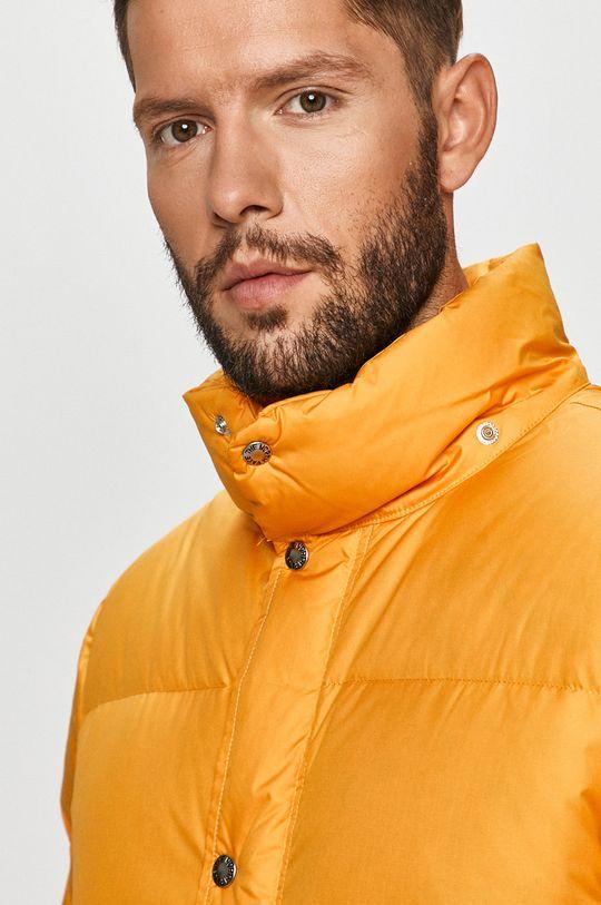 oranžová The North Face - Péřová bunda