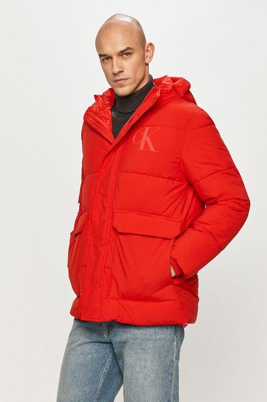 czerwony Calvin Klein Jeans - Kurtka Męski