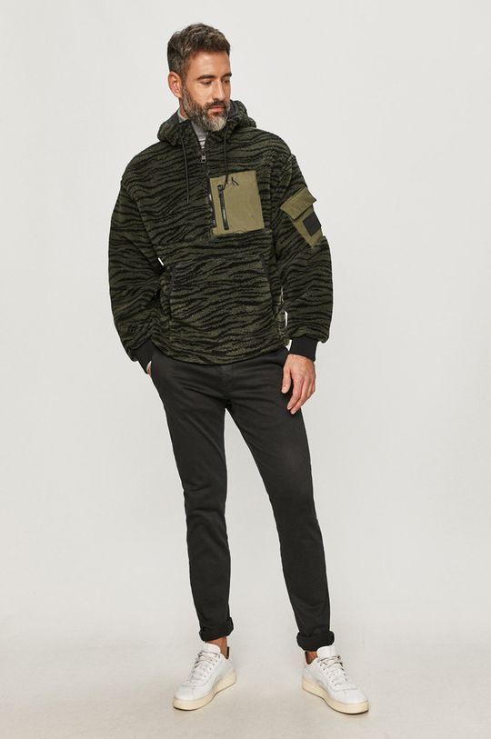 Calvin Klein Jeans - Kurtka oliwkowy