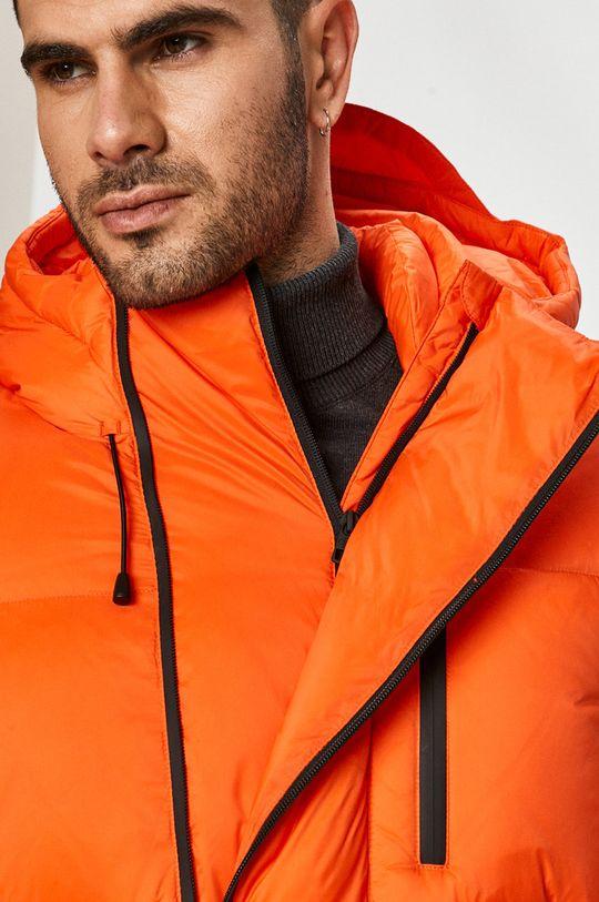 oranžová Calvin Klein Jeans - Péřová bunda