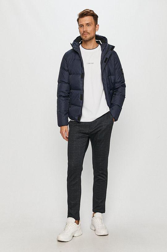 Calvin Klein Jeans - Geaca de puf bleumarin