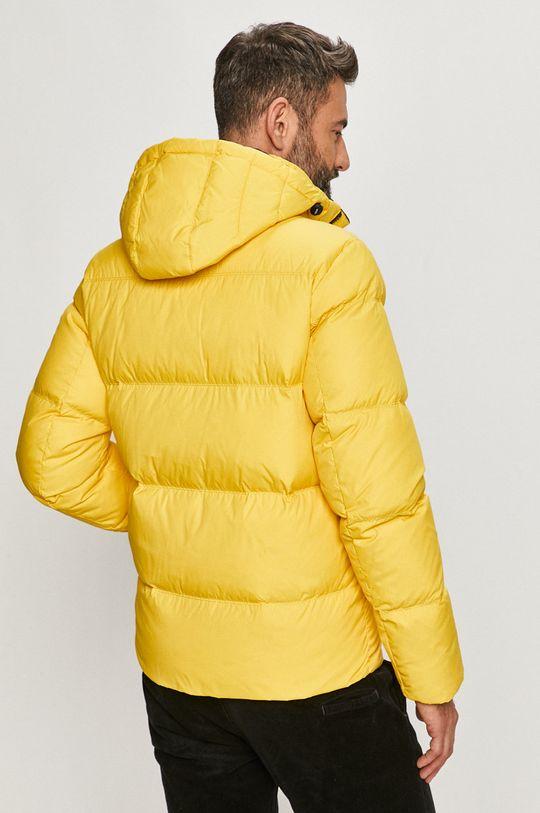 Tommy Jeans - Páperová bunda  Podšívka: 100% Polyester Výplň: 40% Páperie, 60% Páperie Základná látka: 100% Polyester Elastická manžeta: 90% Bavlna, 2% Elastan, 8% Polyester