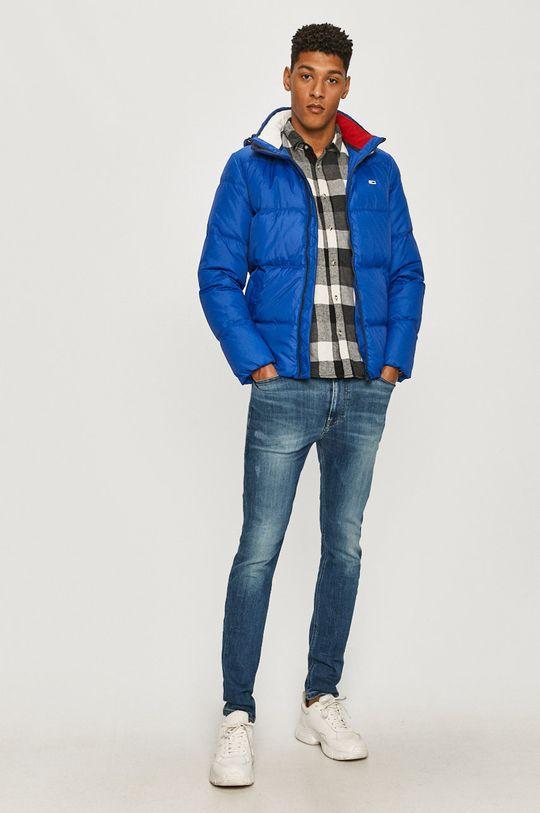 Tommy Jeans - Kurtka puchowa niebieski