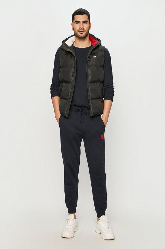 Tommy Jeans - Páperová vesta čierna