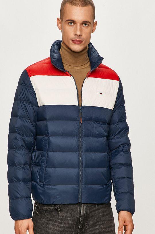tmavomodrá Tommy Jeans - Páperová bunda Pánsky