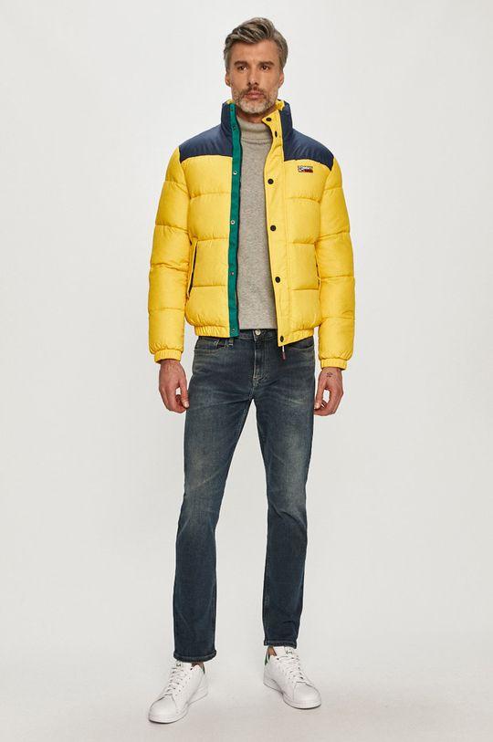 Tommy Jeans - Bunda žltá