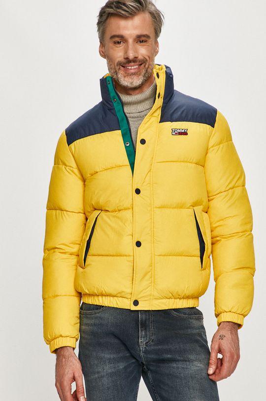žltá Tommy Jeans - Bunda