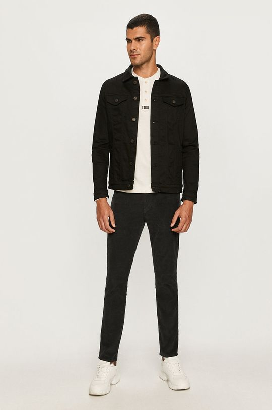 Selected - Geaca jeans negru