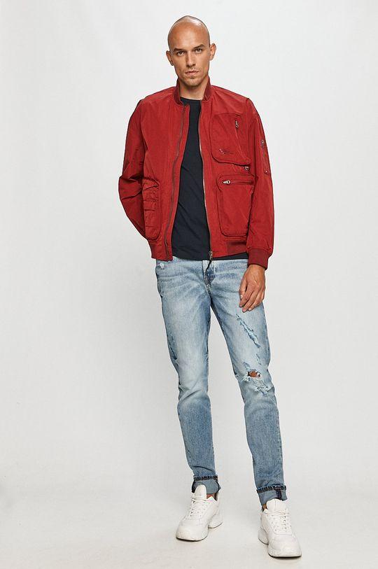 Pepe Jeans - Geaca bomber Andy rosu
