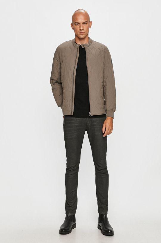 Pepe Jeans - Bunda Drayton sivá