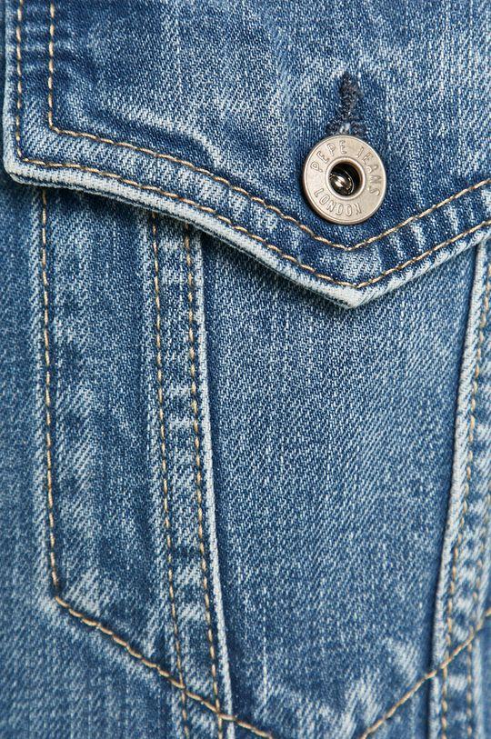 Pepe Jeans - Kurtka jeansowa Pinner Męski