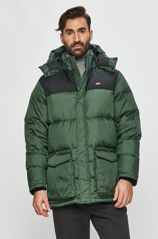 zelená Levi's - Péřová bunda Pánský