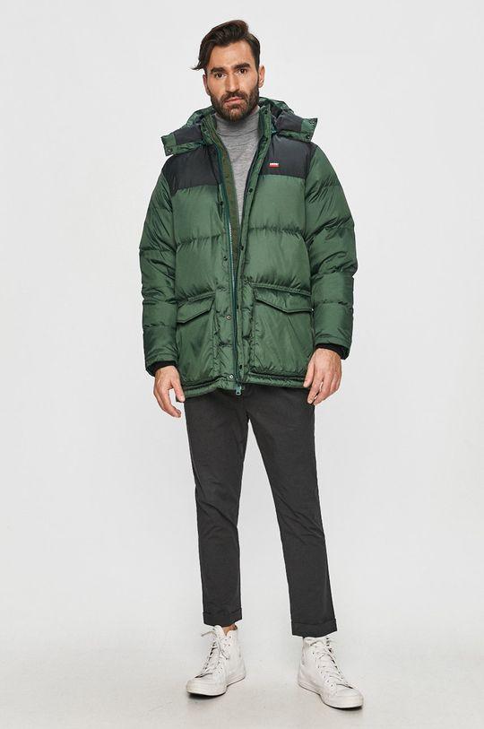 Levi's - Péřová bunda zelená