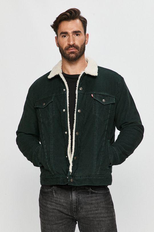 zöld Levi's - Rövid kabát Férfi