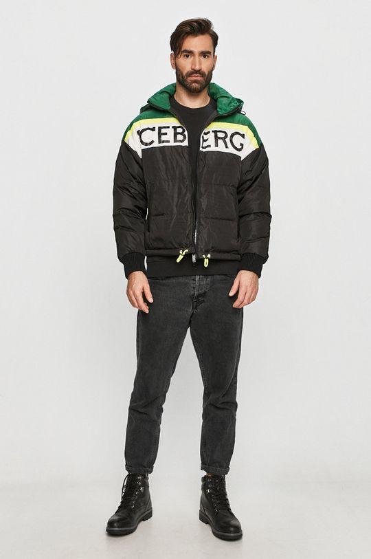 Iceberg - Péřová bunda černá