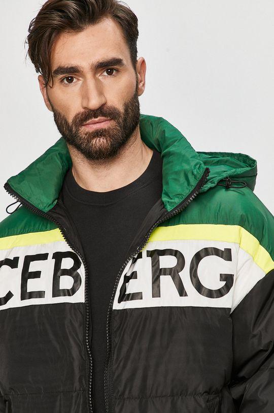 černá Iceberg - Péřová bunda