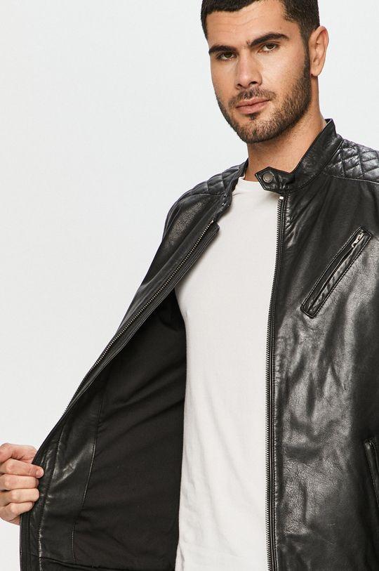 Pepe Jeans - Kožená bunda Defoe