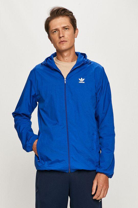 albastru adidas Originals - Geaca De bărbați