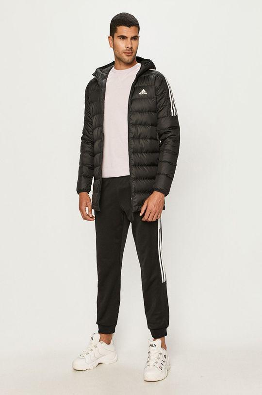 adidas Performance - Páperová bunda čierna
