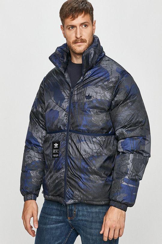 adidas Originals - Péřová bunda modrá
