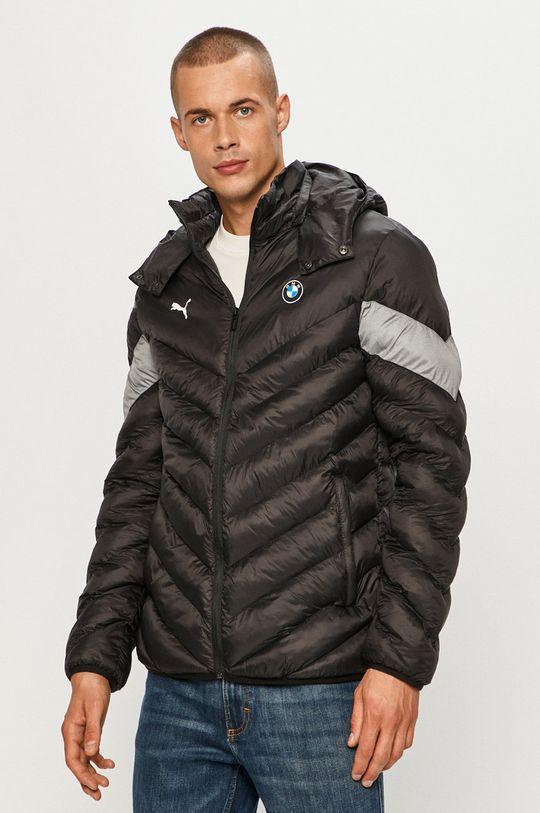 čierna Puma - Páperová bunda x BMW Pánsky