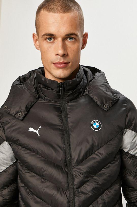 čierna Puma - Páperová bunda x BMW