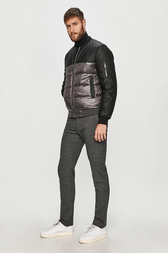 Trussardi Jeans - Bomber bunda šedá