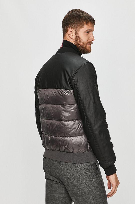 Trussardi Jeans - Bomber bunda  Materiál č. 1: 100% Bavlna Materiál č. 2: 100% Polyamid Materiál č. 3: 100% Viskóza