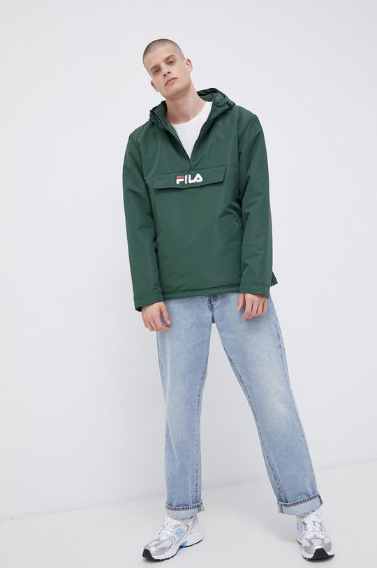 Fila - Kurtka ciemny zielony