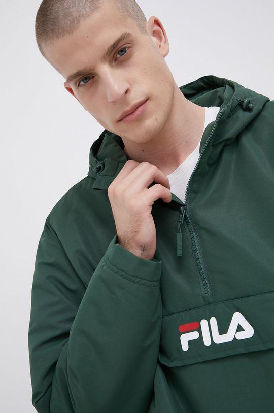 ciemny zielony Fila - Kurtka