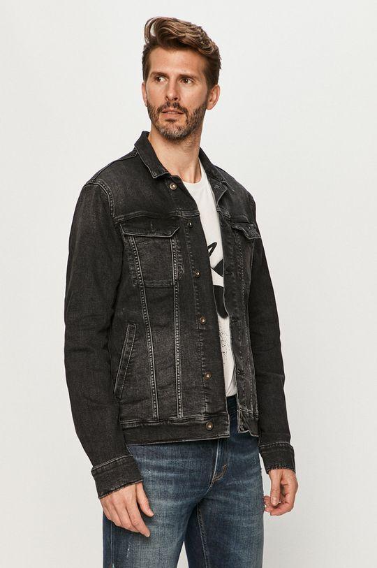 negru Mustang - Geaca jeans De bărbați