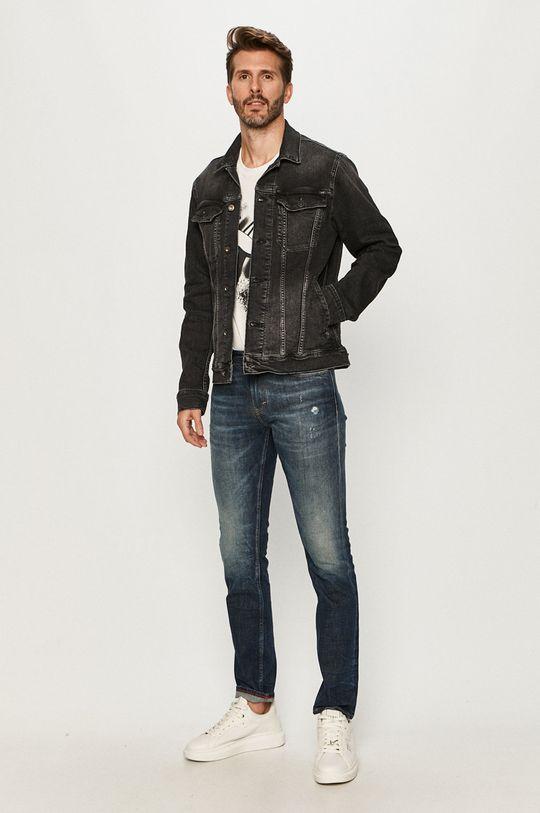 Mustang - Geaca jeans negru