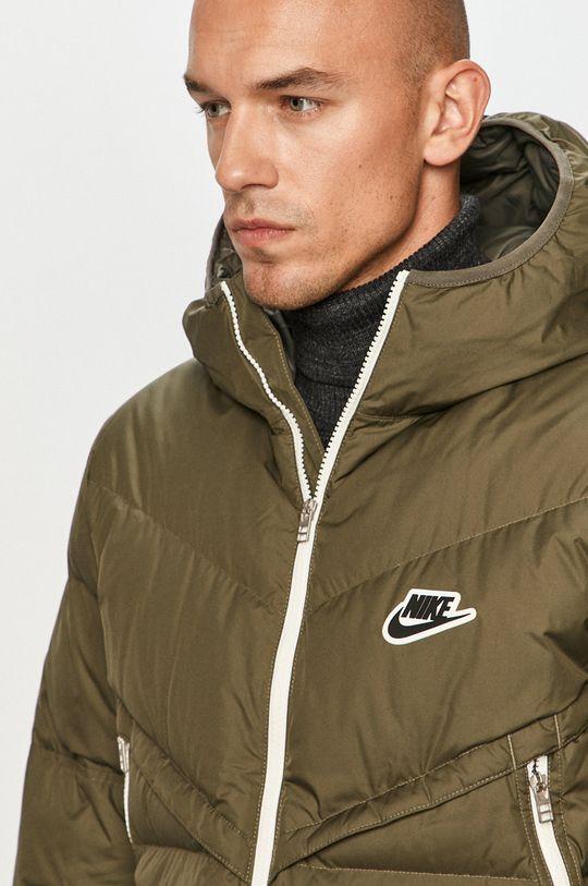 olivová Nike Sportswear - Páperová bunda