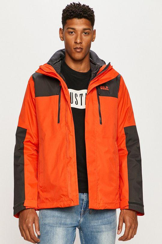 narancssárga Jack Wolfskin - Rövid kabát Férfi