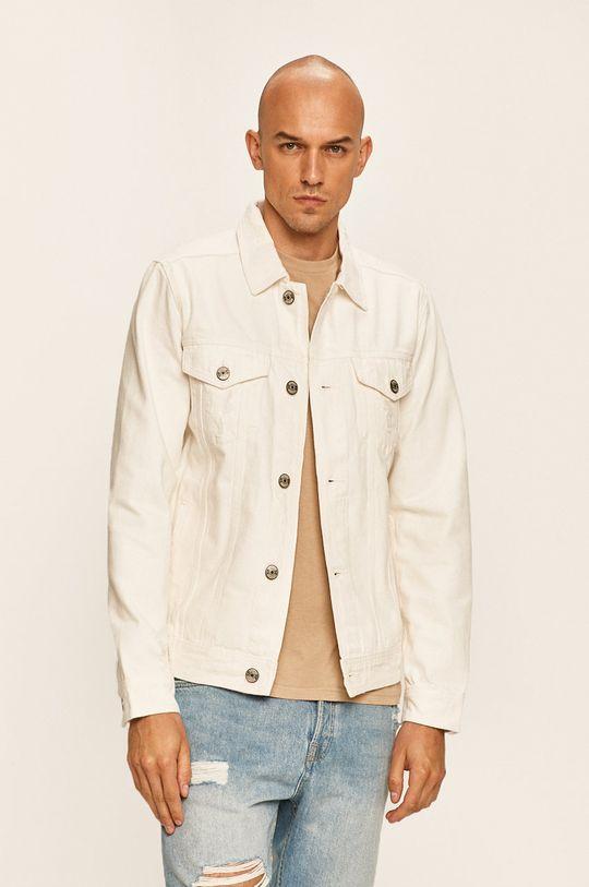 alb Produkt by Jack & Jones - Geaca jeans De bărbați
