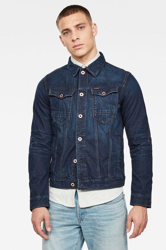 námořnická modř G-Star Raw - Džínová bunda Pánský