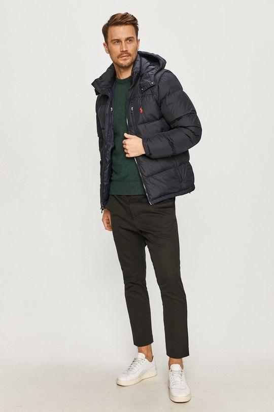 Polo Ralph Lauren - Páperová bunda tmavomodrá