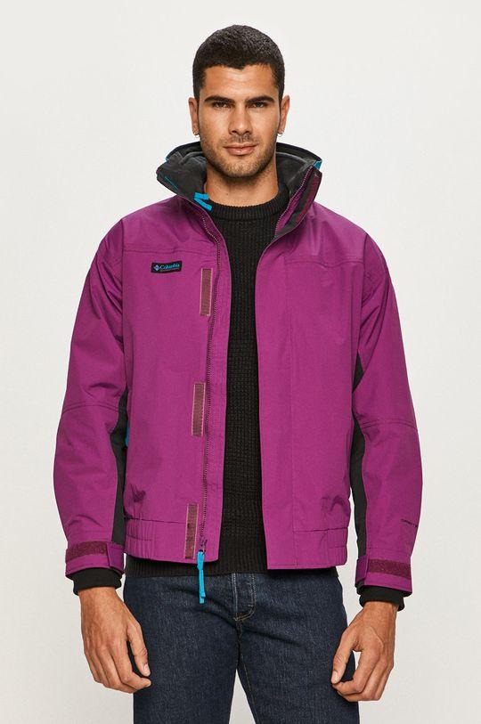 purpurový Columbia - Bunda Pánsky