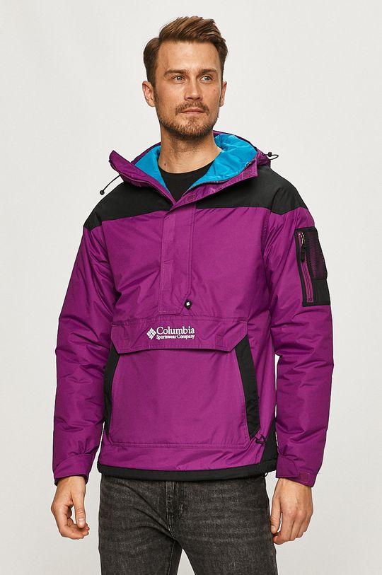 tmavě fialová Columbia - Bunda Pánský