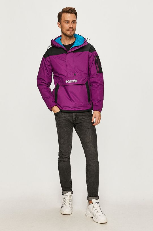 Columbia - Bunda tmavě fialová
