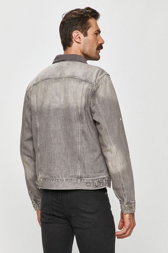 AllSaints - Kurtka jeansowa 100 % Bawełna