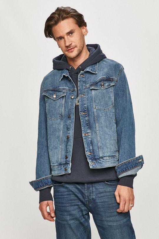 niebieski s. Oliver - Kurtka jeansowa Męski