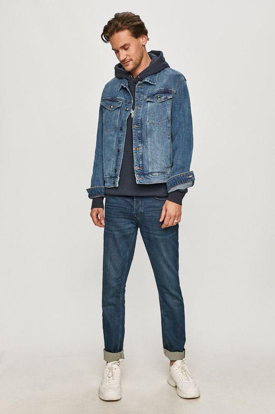 s. Oliver - Kurtka jeansowa niebieski