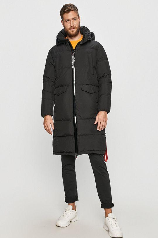 černá After Label - Péřová bunda Pánský