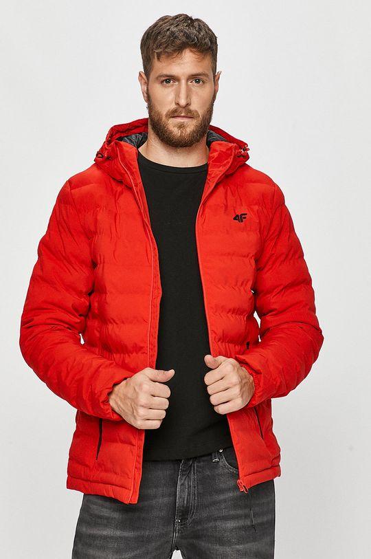 červená 4F - Bunda Pánský