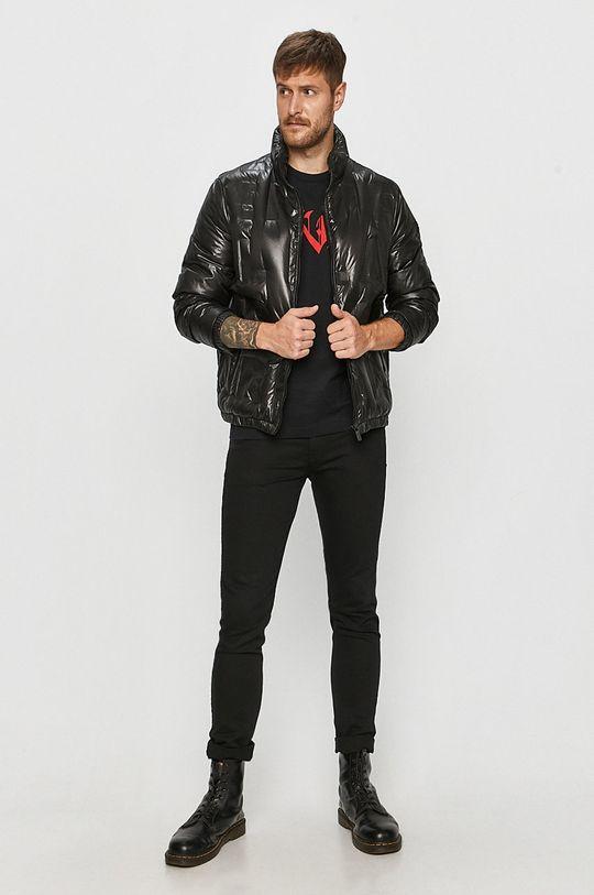 Karl Lagerfeld - Péřová bunda černá