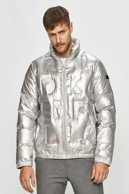 stříbrná Karl Lagerfeld - Péřová bunda Pánský