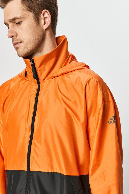 oranžová adidas Performance - Bunda
