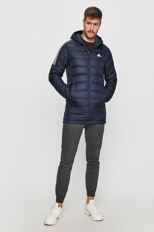 adidas Performance - Péřová bunda námořnická modř